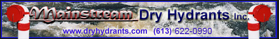 Mainstream Dry Hydrant Banner